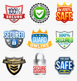 Guard labels Stock Photos