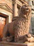 Guard Lion Royalty Free Stock Photos