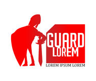 Guard Logo Concept Stock Images