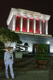 Guard at the Mausoleum of Ho-Chi-Minh Royalty Free Stock Image