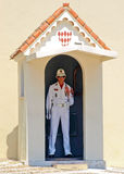 Guard - Monaco. Monaco, Monte Carlo: Royal Honor guard royalty free stock images