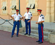 Guard - Monaco Royalty Free Stock Photography