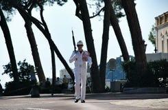 Guard - Monaco Royalty Free Stock Photos