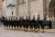 Guard of the Moscow Kremlin-9 Stock Image