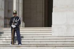 Guard at Palacio de Sao Bento. Stock Image