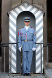 A Guard at Prague Castle Royalty Free Stock Image
