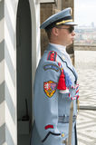 Guard, Prague Castle Stock Image