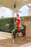 Guard in Rabat, Morocco Royalty Free Stock Photo