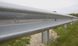 Guard Rail. Close Up royalty free stock image