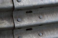Guard rail rivets Royalty Free Stock Photos