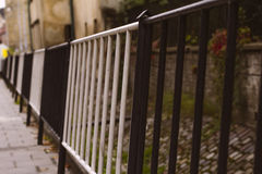 Guard rail of track Royalty Free Stock Images