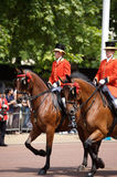 Guard royal, Trooping of the Colour, London Stock Photo