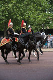 Guard royal, Trooping of the Colour, London Stock Photos