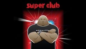Guard super club Royalty Free Stock Image