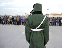 Guard at the Tian'Anmen Square Stock Photo