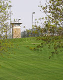 Guard tower. At state prison Royalty Free Stock Photo