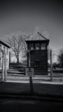 Guard tower, Auschwitz Concentration Camp, Poland Royalty Free Stock Photography
