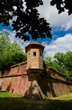 Guard Tower Castle Spilberk in Brno. Royalty Free Stock Photos