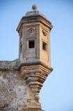 The Guard tower the Gardjola of the Singlea bastion. Malta. Royalty Free Stock Image