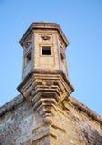 The Guard tower the Gardjola of the Singlea bastion. Malta. Stock Photos