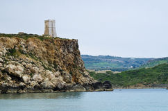 Guard Tower cliff Royalty Free Stock Image