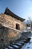 A Guard Tower of Gongju Castle Stock Images