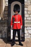 Guard at the Tower of London. Queen's Guard or Queen's Life Guard at the Tower of London on June 17, 2012 in London, England Royalty Free Stock Photos
