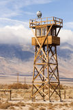 Guard Tower Searchlight Manzanar National Historic Site California Stock Photography