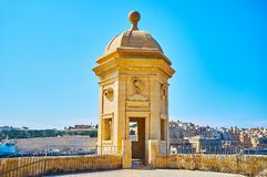 Guard Tower of Senglea, Malta royalty free stock photos