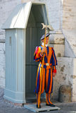 Guard in Vatican Royalty Free Stock Images