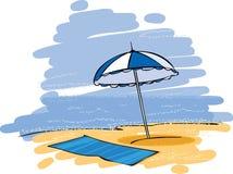 Guarda-chuva ilustração royalty free