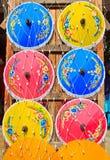 Guarda-chuva asiático do estilo Fotografia de Stock Royalty Free
