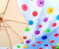 Guarda-chuva asiático do estilo Fotografia de Stock