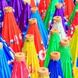 Guarda-chuva asiático do estilo Imagem de Stock