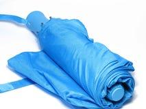 Guarda-chuva azul Fotografia de Stock Royalty Free