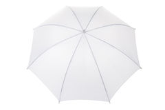 Guarda-chuva branco Fotografia de Stock