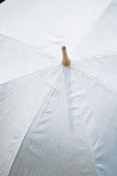 Guarda-chuva branco Fotografia de Stock Royalty Free