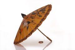 Guarda-chuva chinês Imagens de Stock