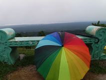 Guarda-chuva colorido imagens de stock royalty free
