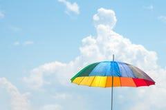 Guarda-chuva colorido Imagens de Stock