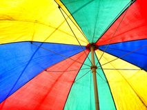 Guarda-chuva colorido Imagem de Stock Royalty Free