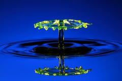 Guarda-chuva da água no azul Foto de Stock Royalty Free