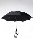 Guarda-chuva da terra arrendada da mão imagem de stock royalty free