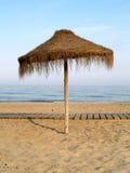 Guarda-chuva de praia Imagem de Stock