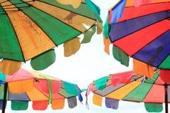 Guarda-chuva de praia ilustração stock