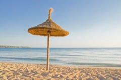 Guarda-chuva de praia Fotografia de Stock Royalty Free