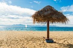 Guarda-chuva de praia Fotos de Stock