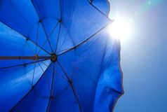 Guarda-chuva de Sun foto de stock royalty free