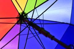 Guarda-chuva do arco-íris Foto de Stock