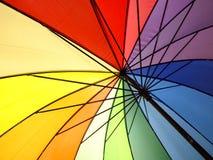 Guarda-chuva do arco-íris Fotografia de Stock Royalty Free